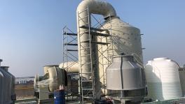 喷淋塔的工作原理 特点 结构以及喷淋塔的注意事项